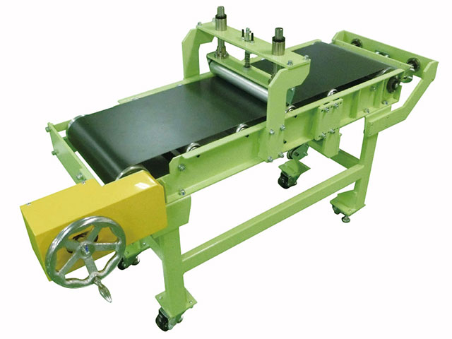 Manual drive Belt conveyor Jamming Accident Simulator