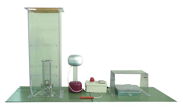 静電気溶剤燃焼・爆発安全体感装置