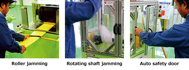 Rotaing(Multiple) Jamming Accident Simulator