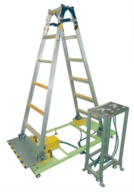 Unsteady Stepladder Accident Simulator
