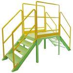 階段歩行安全体感装置