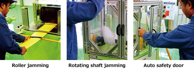Rotaing(Multiple) Jamming Accident Simulator