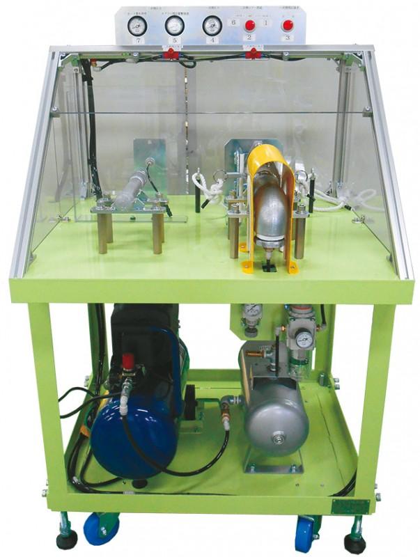 カプラー残圧衝撃+ホース暴れ 体感装置